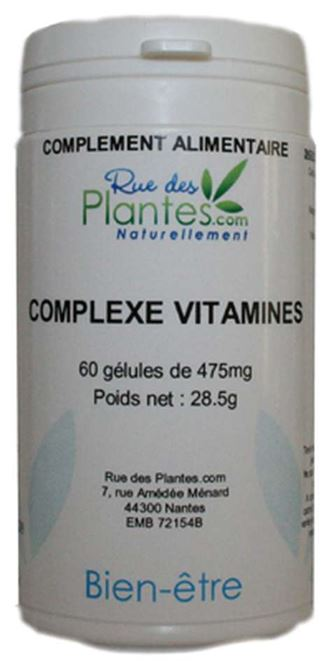 complexe vitamines 120 g lules rue des plantes ge m147 120 ruedesplantes produits de. Black Bedroom Furniture Sets. Home Design Ideas