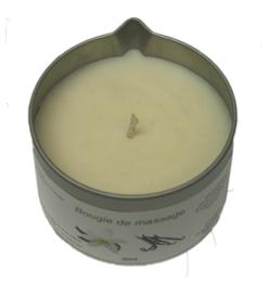 bougies et huiles de massage