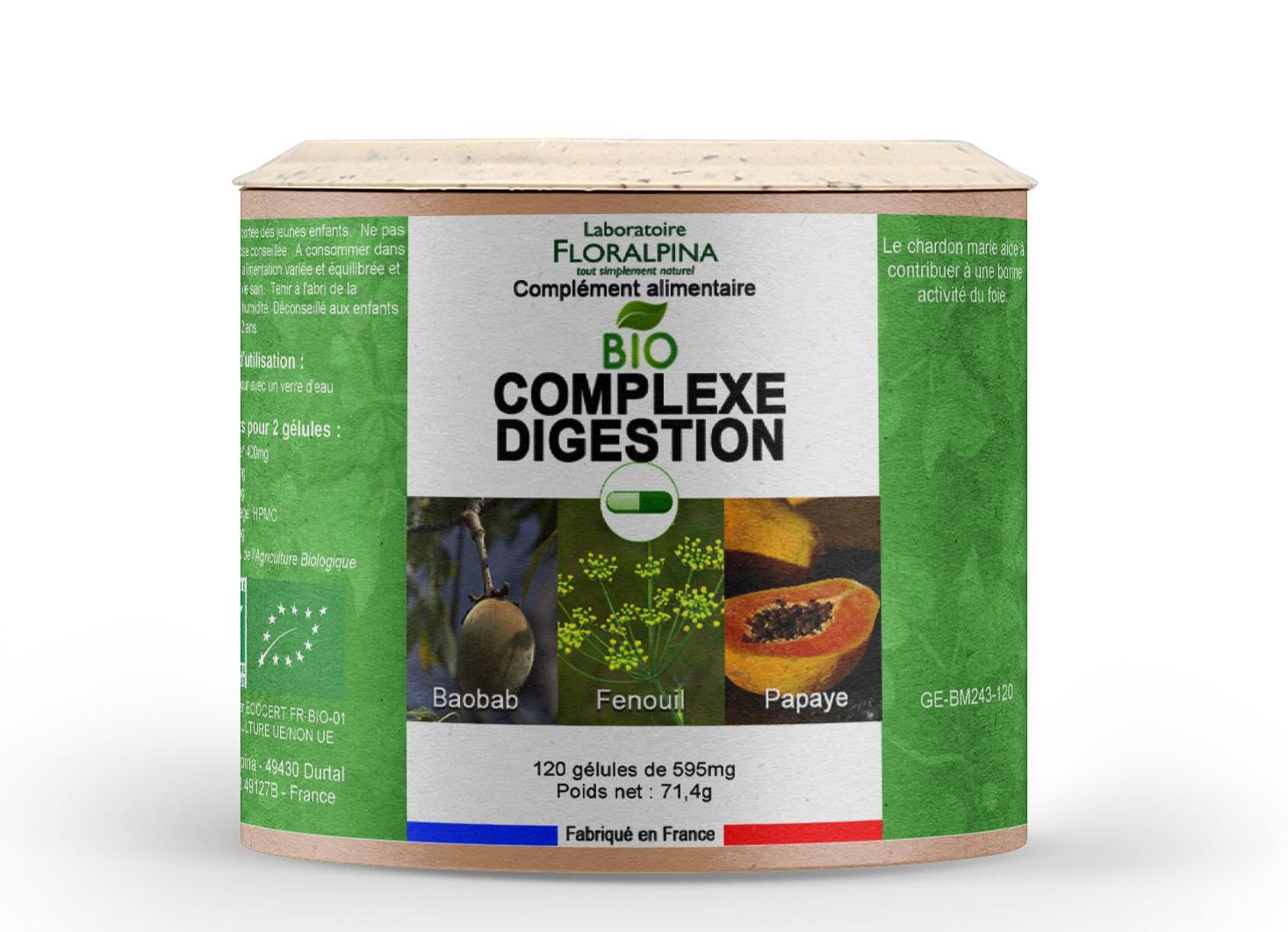 Complexe Digestion BIO 120 gélules