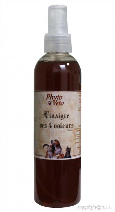 Vinaigre des 4 voleurs huile essentielle apais 39 piq for Vinaigre et huile essentielle