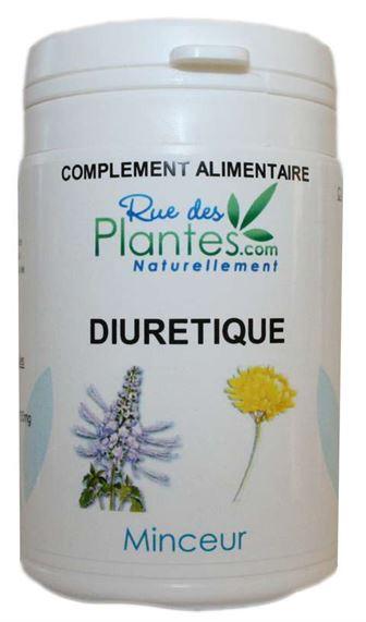 plantes diuretiques minceur