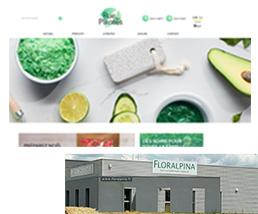Laboratoire Floralpina et rue des plantes
