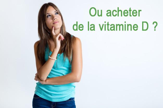 Ou acheter de la vitamine d