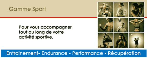 compléments alimentaires naturels sportifs : articulaire, energisant, echauffement, détente, endurance