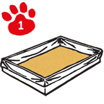Bac à litière pour chat