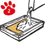 Bac à litiere pour chat